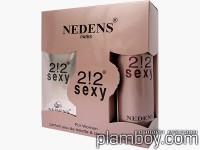Дамски подаръчен комплект 2!2 sexy като 212 Sexy woman - Lm cosmetics