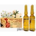 Ампули за околоочен контур с масло от лайка и роза - Ауриметрия