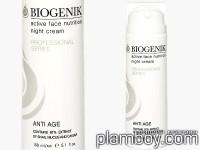 Професионален активен подхранващ нощен крем за лице с екстракт от слуз и хайвер на охлюв - BioGenik